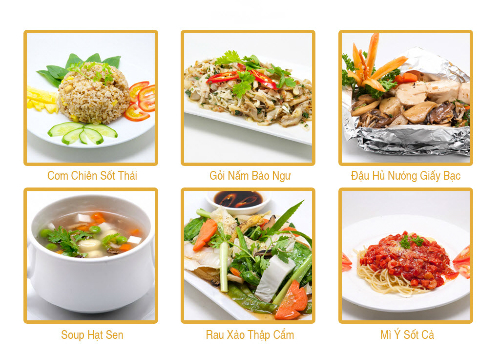 Những món ăn chay ngon miệng và bổ dưỡng liên tục được cập nhật.