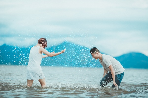 Lưu ý để có bộ ảnh cưới đẹp tự nhiên ở biển