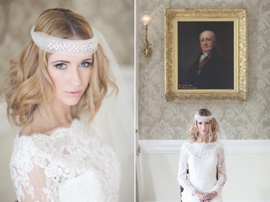Bộ sưu tập cũng mang phong cách bohemian lãng mạn, đặc trưng với phụ kiện trang sức đeo ngang trán.