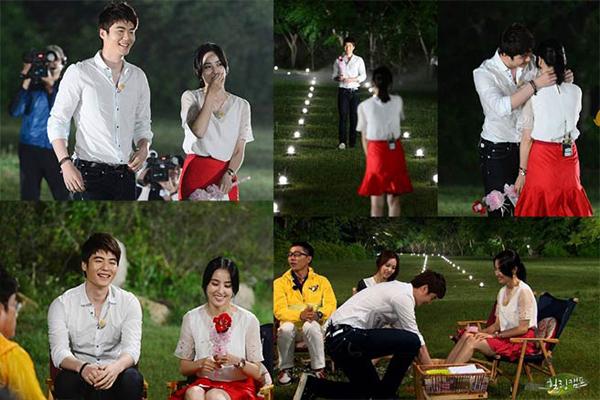 Ki Sung Yeung cầu hôn người đẹp hơn 8 tuổi