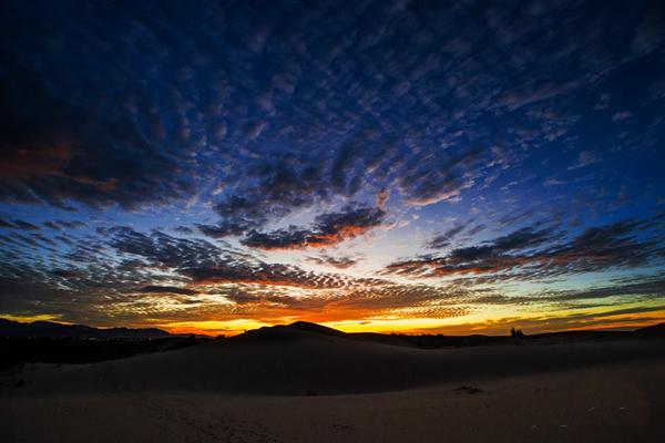 Hoang sơ đồi cát Nam Cương