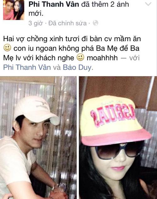 Phi Thanh Vân có bầu với 'phi công trẻ'