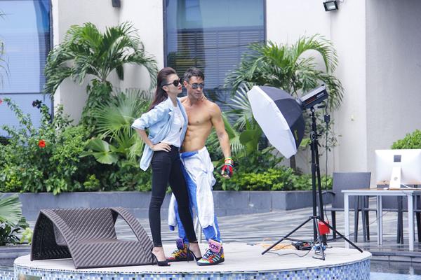 Adam và siêu mẫu Thanh Hằng
