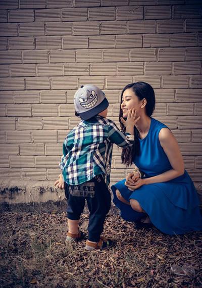 Trương Quỳnh Anh tận hưởng ngày tháng làm mẹ tuyệt vời nhất bởi chẳng còn bận tâm đến mỡ thừa