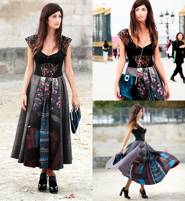 Phong cách nổi bật, sáng tạo của fashionista Italy