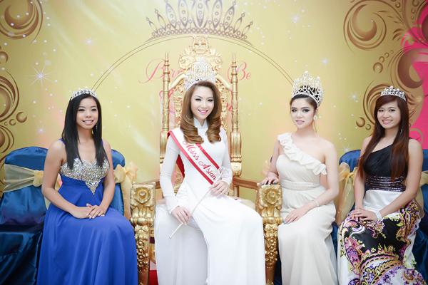anh3 7560 1408852391 Hoa hậu gốc Việt Jennifer Chung lộng lẫy trong tiệc mừng