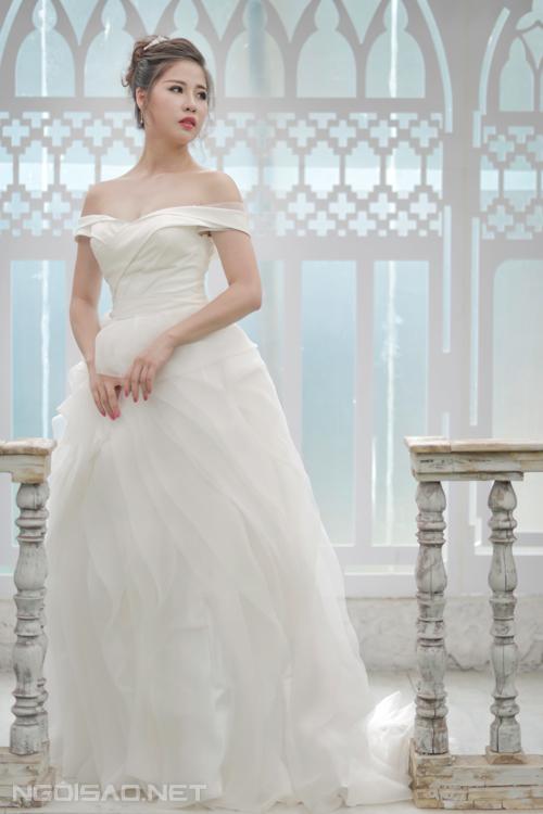 Bộ sưu tập váy cưới voan, ren mềm mại