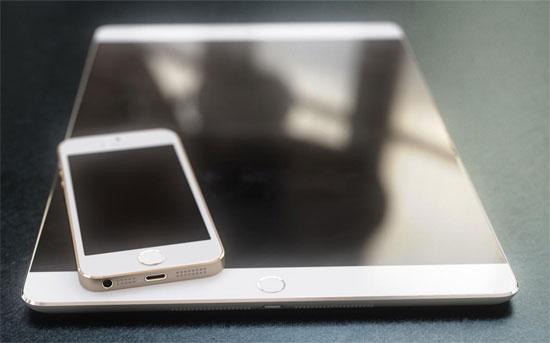 iPad cỡ lớn ra mắt đầu năm 2015