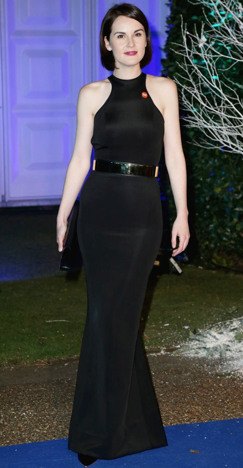 Michelle-Dockery-Dresses-Skirts-Evening-