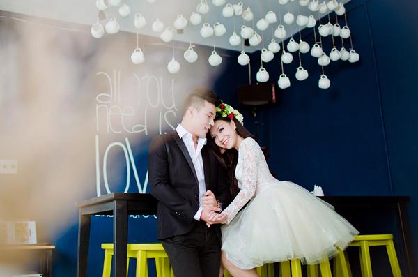 Bà xã của Baggio tình tứ chụp ảnh cưới cùng Jason Đỗ
