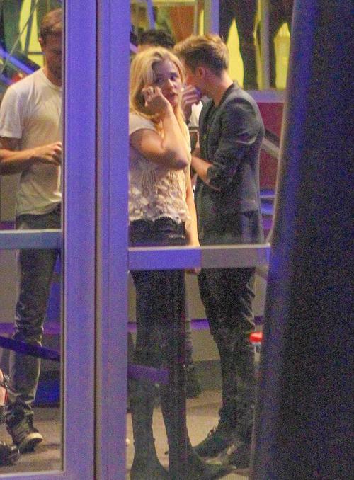Có vẻ giữa Chloe Moretz và cậu cả nhà Becks chỉ là tình bạn đơn thuần.