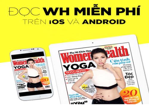 Độc giả còn có thể đọc Womens Health trên smartphone và máy tính bảng.