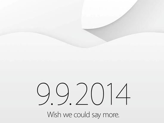 Apple ấn định ngày 9/9, iPhone 6 có thể ra mắt