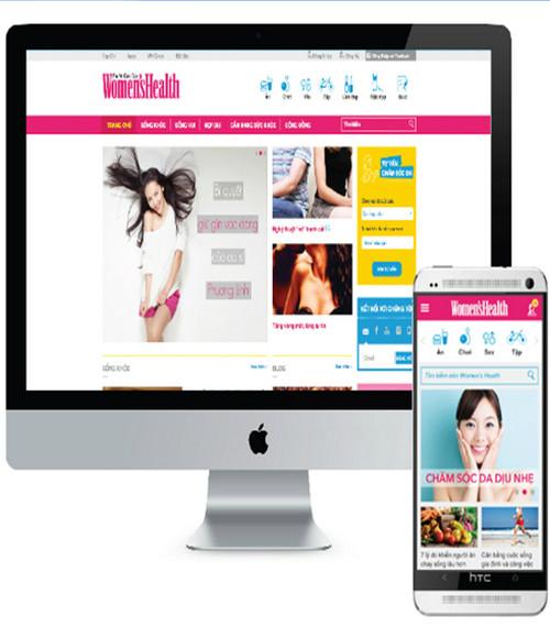 Sau khi nâng cấp và phát triển một số tính năng mới nhằm hỗ trợ thông tin tốt hơn, Womens Health Việt Nam đã giới thiệu website phiên bản mới.