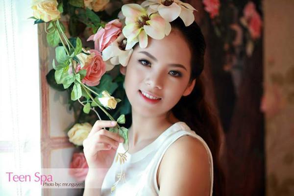 """[Caption]Bộ ảnh mang chủ đề """"Summer angel"""" của cô gái đến từ trường Ngoại thương này giải nhất vòng Sơ loại Miss OneTV"""