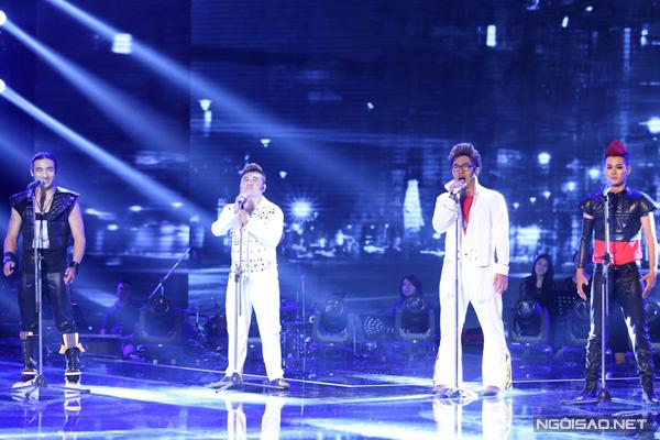 F Band mang đến liên khúc 'We will rock you' khiến cả khán phòng 'bùng nổ'. Hồ Quỳnh Hương nhận xét, phần trình diễn của nhóm đã làm khán giả bị 'nổ tung' khi mang đến không khí sôi động.