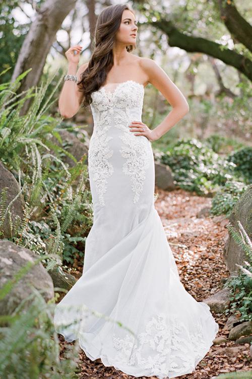 6 váy cưới trong mơ cho cô dâu cổ tích