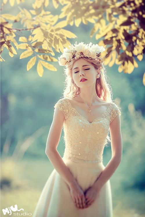 Váy cưới đẹp như thiên thần cho cô dâu Việt