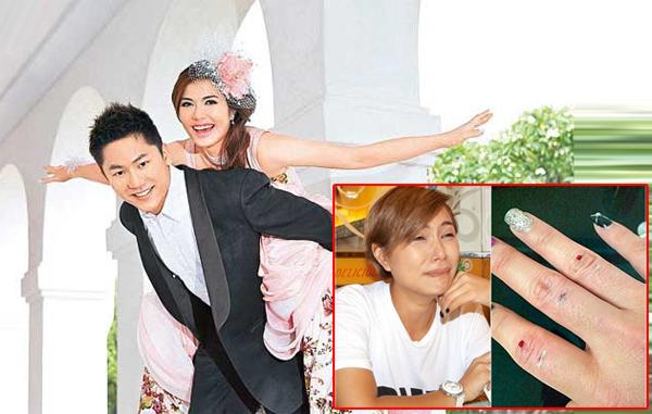 """Ông chồng ca sĩ Hong Kong Khả Lam có bản tính nóng nảy, hay """"đụng tay chân"""" với vợ,"""