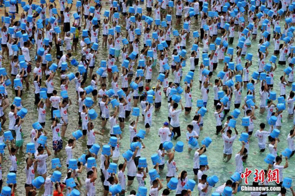 The participants take their place alongside other luminaries like Chinese plankers, hulusi players and prenatal yoga class attendees in the country's never-ending quest to own all the world records.