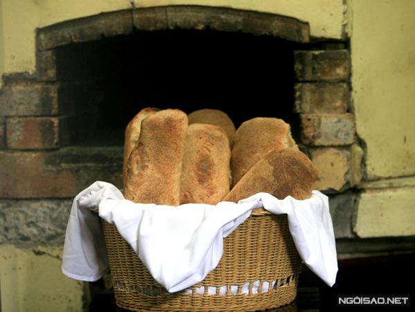 Nét tinh tế của bánh mỳ Italy nướng thủ công