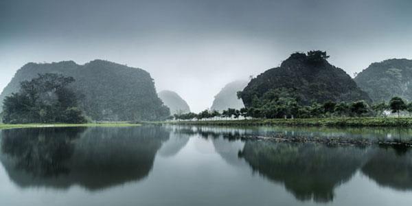 khu du lịch Tam Cốc Bích Động thuộc tỉnh Ninh Bình. Ảnh: Trịnh Quang Minh.