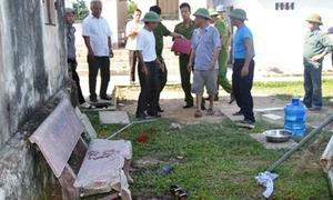 Bồn nước trong trường sập, 2 học sinh tử vong