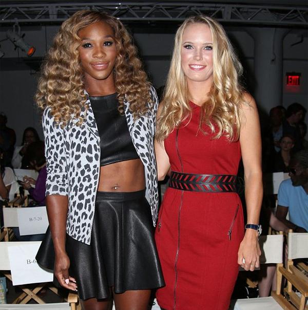 Thời gian này, Serena và đồng nghiệp Caroline