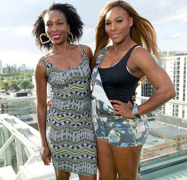 Serena từng rất ngưỡng mộ chị gái Venus