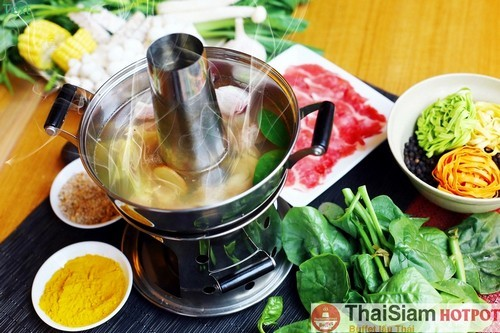 Các món lẩu tại ThaiSiam Hotpot Buffet