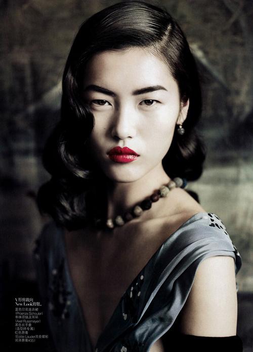 Học Liu Wen tôn vinh vẻ đẹp Phương Đông - Làm đẹp