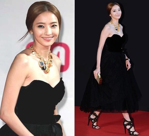 Đồ hiệu quyến rũ của 'búp bê' Han Chae Young