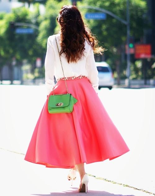 HallieDaily-Peach-Full-Skirt-and-Silk-10