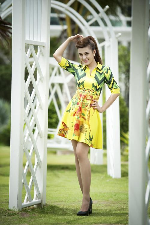 Bùi Thị Tường Vy sinh năm 1994. Cô thử sức ở Miss Ngôi Sao với mong muốn được khẳng định bản thân.
