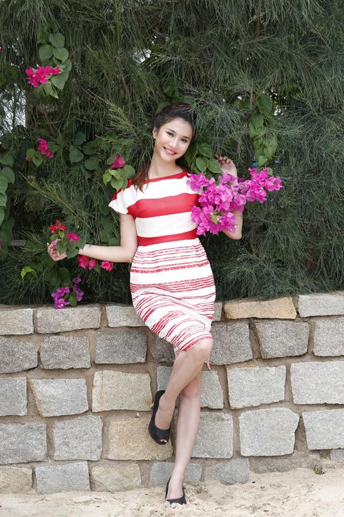 Nguyễn Thị Thu Thủy, sinh năm 1993. Cô là sinh viên năm cuối Đại học HUTECH TP HCM.