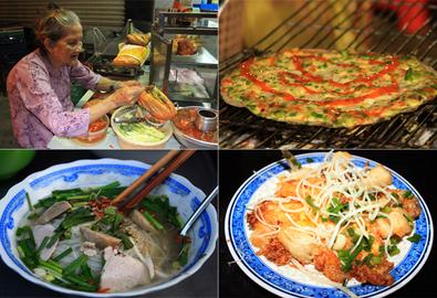 Các món ăn đường phố giá dưới 15.000 đồng ở Sài Gòn