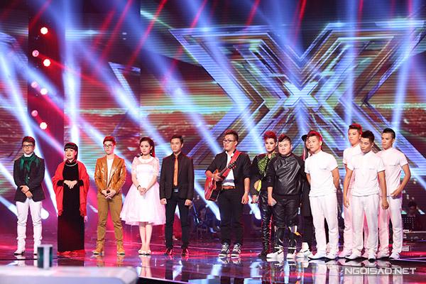 Sau 7 phần thi, chỉ có 4 thí sinh an toàn là Quang Đại, Giang Hồng Ngọc, Loki Bảo Long và O-Plus.
