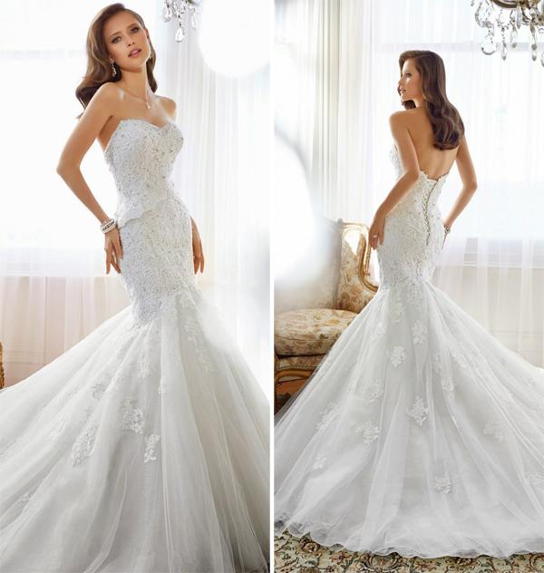Váy cưới đuôi cá gợi cảm thướt tha