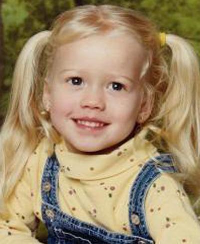 Sabrina Allen năm 4 tuổi. Ảnh: Fox