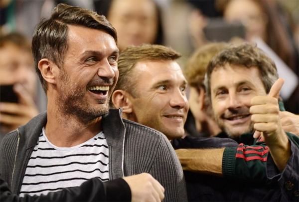 Hai cựu danh thủ của Milan