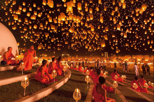 Lễ hội Loy Krathong.