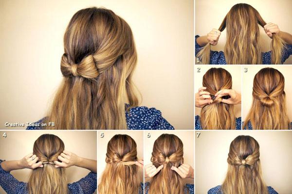 7 kiểu tóc đơn giản mà cuốn hút - Làm đẹp