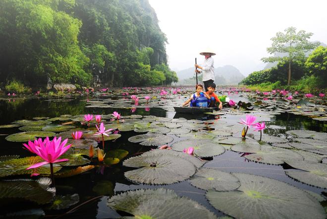 Đi chùa Hương,