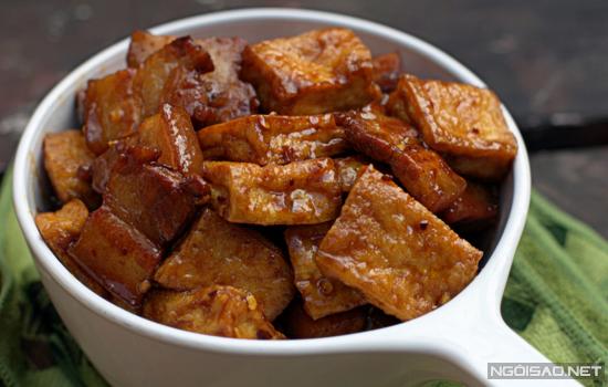 Hướng dẫn cách làm món thịt kho đậu phụ ngon