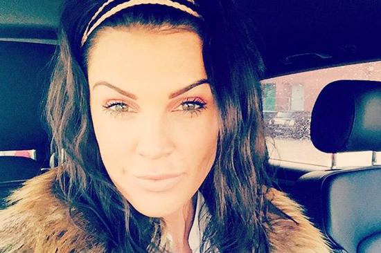 Ly dị chồng, Danielle Lloyd cũng chia tay mái tóc vàng quen thuộc.