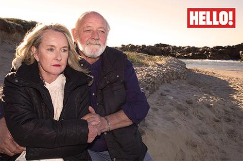 Ông Barry và bà June, bố mẹ của Reeva Steenkamp.