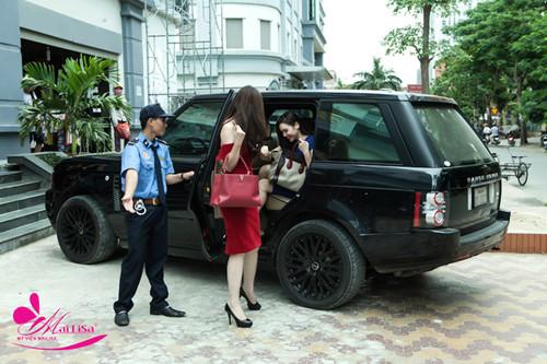 Diện Hân và Tú Anh làm đẹp tại TP Vinh - Làm đẹp