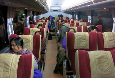Dọc ngang Myanmar trên những chuyến bus đêm