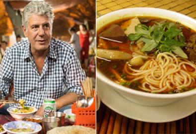 Đầu bếp Mỹ khen bún bò Huế là 'súp ngon nhất thế giới'