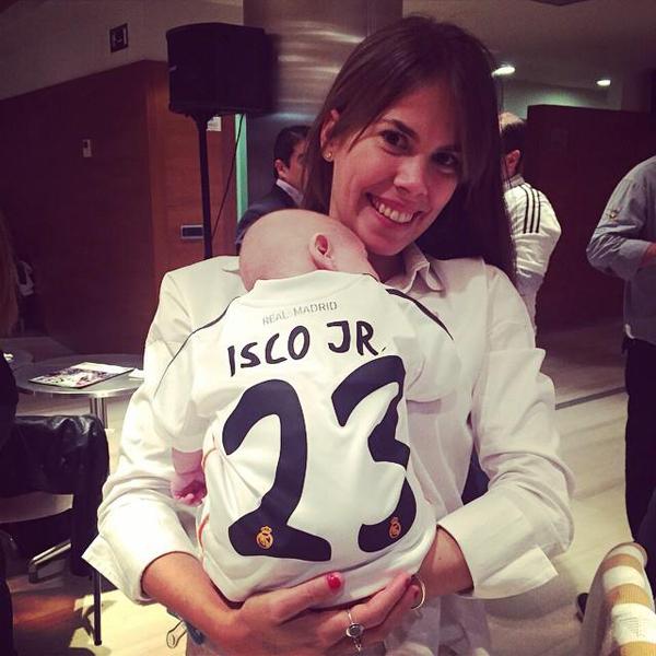 Bạn gái Victoria Calderon của Isco
